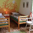 Sypialnia i łóżka w domu