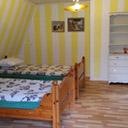 Sypialnia w domu w Szwecji