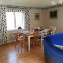 Salon i stół jadalny w domku
