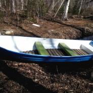 Łódka do łowienia ryb