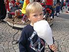 Dziecko je wate cukrową