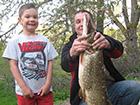 Wędkowanie ryb duży szczupak