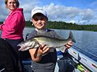 Złapana ryba w Szwecji