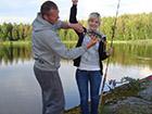 Wędkowanie ryby okoń