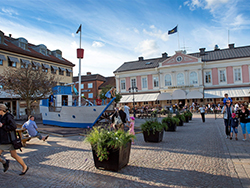 Rynek Vimmerby latem