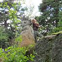 Park troli rzeźby