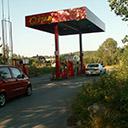 Stacja benzynowa w Szwecji