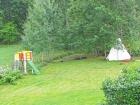 Łąka i las w Szwecji